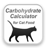 Avec cette application, vous calculerez le pourcentage de glucides dans les aliments humides pour chats, en particulier pour les chats diabétiques.