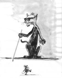Le chat est «à-croc» à la taurine. On ne la trouve que dans le règne animal.