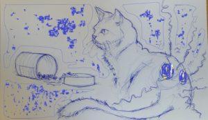influence hormones sur le chat